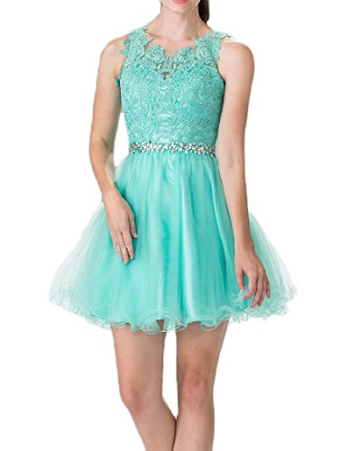 Beilite Lace Beaded Homecoming Dress Open Back Short for sale  Delivered anywhere in Canada