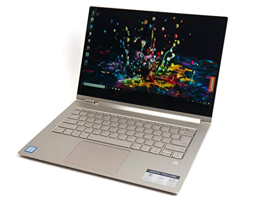 Lenovo Ideapad Yoga C930-13IKB Laptop Notebook 13.9″ i7-8550U 1.8Ghz (4Ghz Turbo Speed), 8GB RAM, 512GB M2 SSD, Full HD, Touchscreen, Windows 10 Home, Mica (Light Gold)