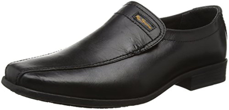 Ben Sherman Boys' Dexi Slip Loafers, Black (Black 001), 3 Child UK 36 EU