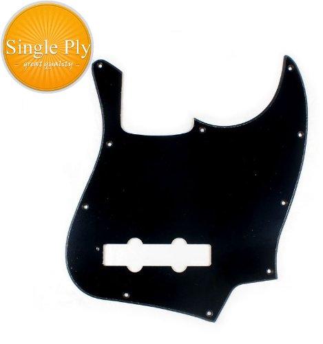 A81Custom-Single-Ply-Guitar-Pickguard-Fits-Jazz-Bass-JB-BLACK