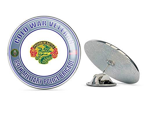 U.S. Army Cold War 89th Military Police Brigade Unit Crest Veteran Metal 0.75