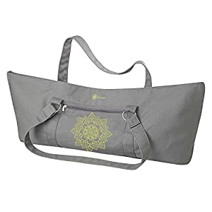 Amazon.com : Gaiam Yoga Mat Tote Bag, Citron Sundial