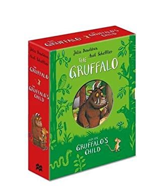 book cover of The Gruffalo and the Gruffalo\'s Child