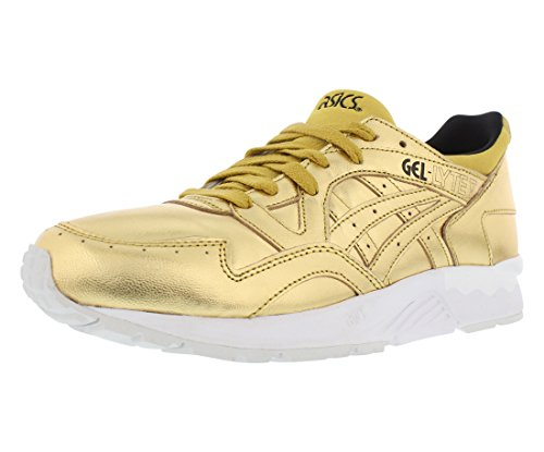 Price comparison product image ASICS Gel - Lyte V Running Men's Shoes,  Gold / Gold,  6 D(M) US
