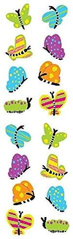Mrs Grossman's Strip Stickers - Chubby Butterflies - Mrs Grossmans Sticker Strips