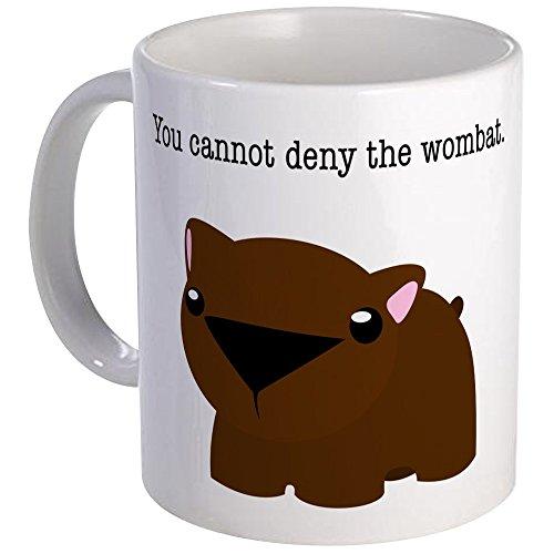 CafePress Wombat Mug Unique Coffee Mug, Coffee Cup