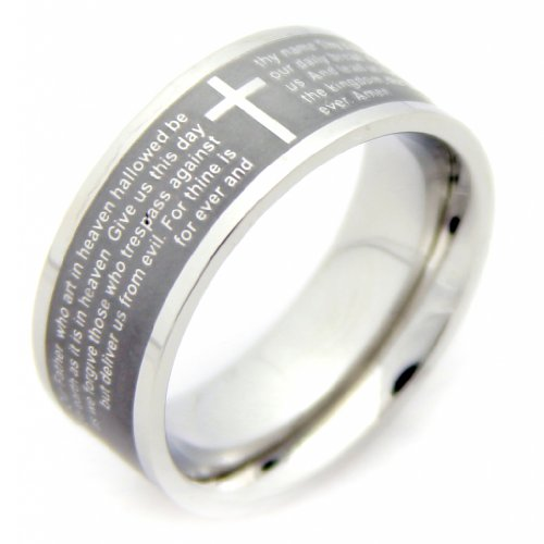 Our Father Prayer Ring