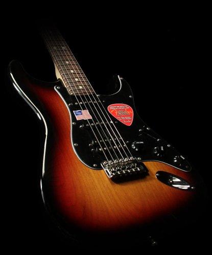 Fender Strat American Deluxe (Fender American Special Stratocaster HSS, Rosewood Fretboard - 3-Color Sunburst)