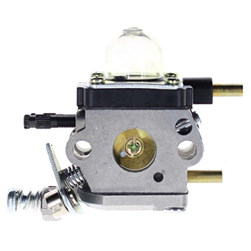 Carbhub C1U-K54A Carburetor for 2-Cycle Mantis 7222 7222E 7222M 7225 7230 7234 7240 7920 7924 Tiller / Cultivator Carb with Air Filter Repower Kit by Carbhub (Image #1)