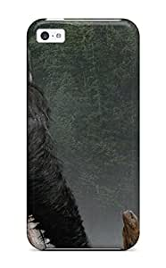 ZoKoAvb9820bJkle Case Cover, Fashionable Iphone 5c Case - Dawn Of The Planet Of The Apes