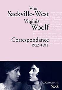 Correspondance 1923-1941 par Sackville-West