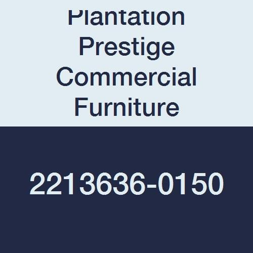 Plantation Prestige Commercial Furniture 2213636-0150 Solid Table Top, Steel Material Type, 36'' x 36'', Charcoal by Plantation Prestige Commercial Furniture