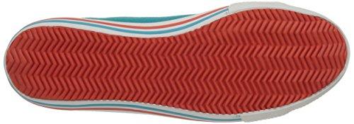 Helly Hansen W Oslofjord Canvas, Zapatillas de Deporte Exterior para Mujer Azul / Blanco (252 Aquamarine / Off White / S)