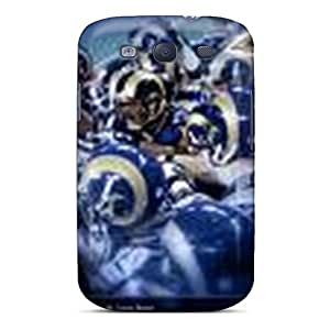 Anti-Scratch Hard Cell-phone Cases For Samsung Galaxy S3 With Customized HD St. Louis Rams Series ErleneRobinson