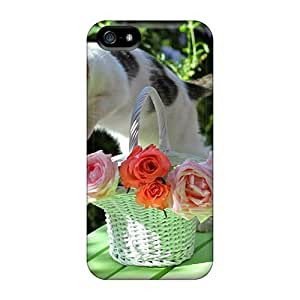 Durable Beautiful Jump Back Case/cover For Iphone 5/5s
