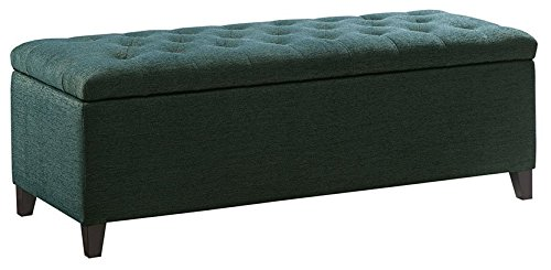 Find Bargain Shandra Tufted Top Storage Bench