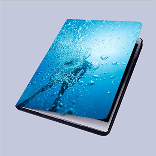 Compatible with 3D Printed iPad 9 7  Case,Freediving-Apnea-Women-Snorkeling-Underwater-Diving-sea-Adventure  Lightweight Anti-Scratch Shell Auto