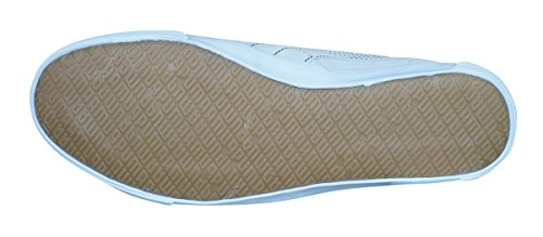 Puma Kreta L Perf Heren Lederen Sneakers / Schoenen Off White