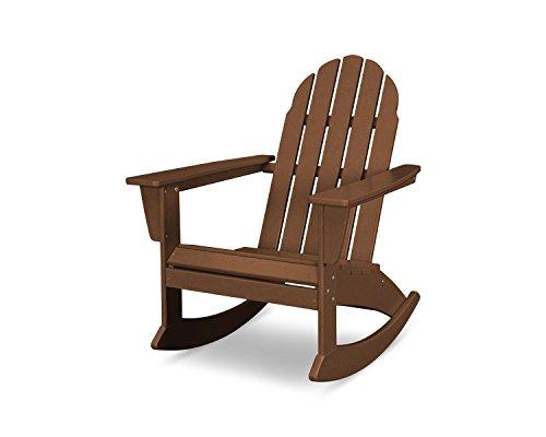 POLYWOOD Vineyard Adirondack Rocking Chair (Teak)