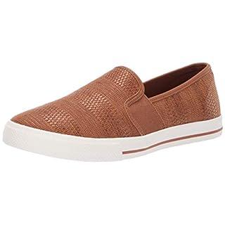 Lauren Ralph Lauren Women's Jinny Sneaker, tan, 5 B US