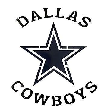 graphic about Dallas Cowboys Printable Logo identify : Dallas Cowboys Brand Stencil Reusable Mancave