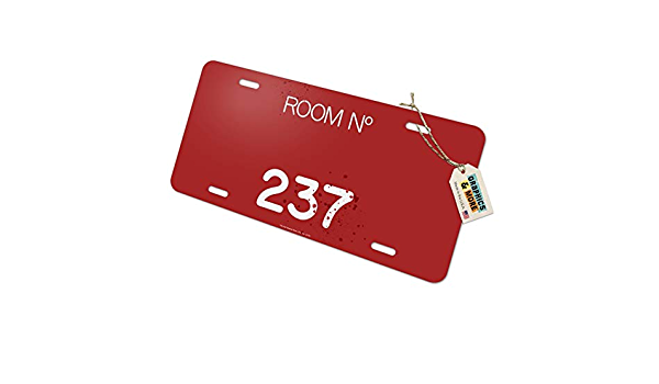 Graphics and More The Shining Floor Pattern Novelty Metal Vanity Tag License Plate