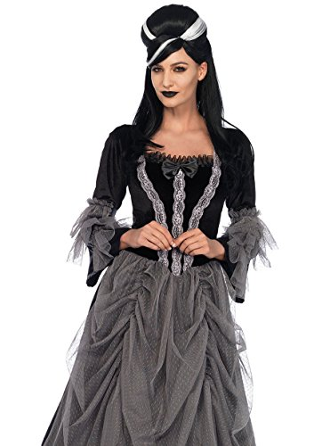 Leg Avenue Women's Costume, Black/Grey Medium ()