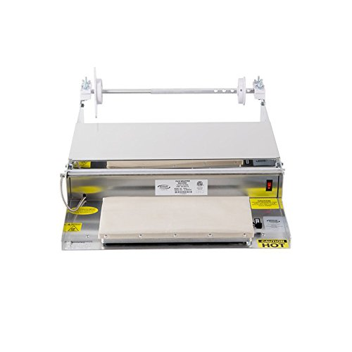 Winholt WHSS-1 Table Model Film Wrappers, 24'' Length x 22 1/4'' Width x 5'' Height, 6'' x 15'' Hot Plate by Winholt
