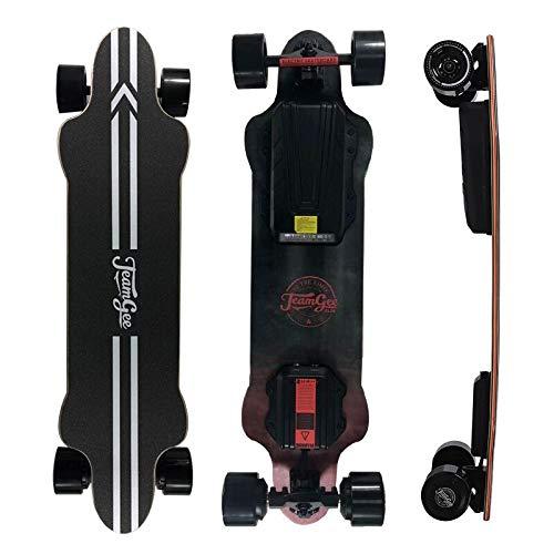 Vogvigo Teamgee H20/H9/H8/H3-B Monopatín Eléctrico Longboard de con Control Remoto por Radio,Cubierta de Arce, Adecuado para Adolescentes y Adultos