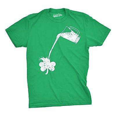 Pouring Shamrock T Shirt Funny Saint Patricks Day Shirt