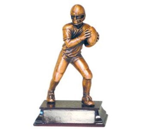 Player Figurine Football - StealStreet DBB1231B Small Pewter American Football Player Figurine