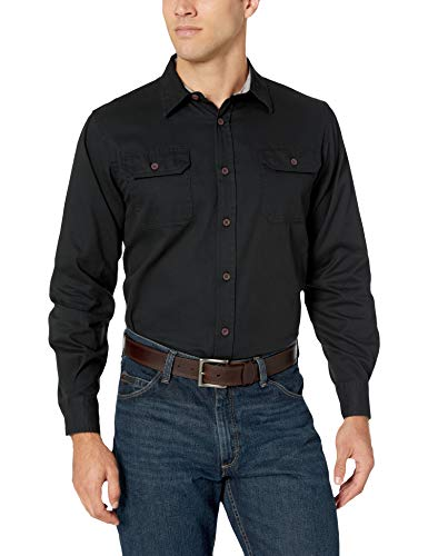 Wrangler Authentics Men/'S Long-Sleeve Classic Woven Shirt
