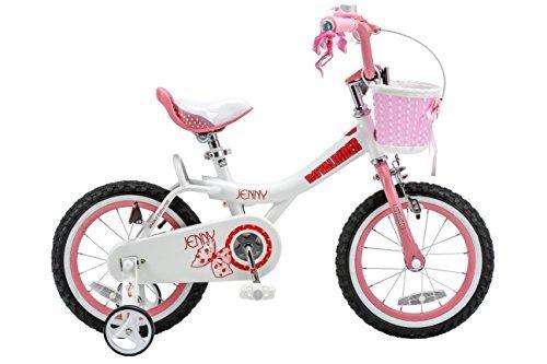 Royalbaby Jenny Princess Pink Girl's Bike with Training Wheels and Basket Perfect Gift for Kids 16 inch wheels [並行輸入品] B07BFVW6JB