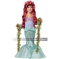 California Costumes Lil' Mermaid Girl's Costume (Multicoloured)