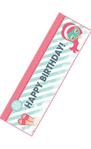 Little Spa Party Birthday Banner by Birth3000