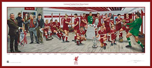 Liverpool FC Premier League Soccer Dream Scene Lithograph Panorama Photo - By Artist Jamie Cooper