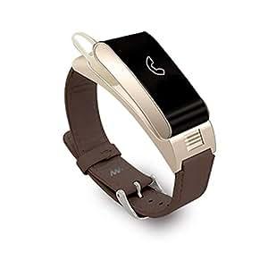 MRXUE Relojes Inteligentes Relojes Impermeables Reloj de Pulso para niños Mujeres Hombres Bluetooth podómetro para Android