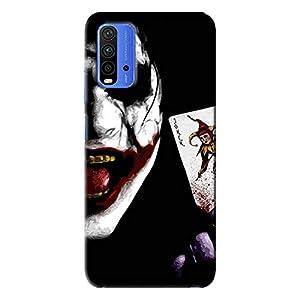 NDCOM® Joker Printed Hard Mobile Back Cover Phone Case for Redmi 9 Power