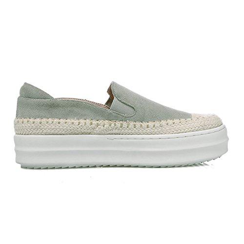 RoseG Mujer Zapatos Plataforma Cuerda Tejer Gris Size39 sH9yWZ28N