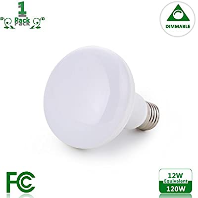 BR30/R30 12 Watt Light Bulb Equivalent 120 Watt Incandescent Bulb Dimmable E26 Base 2700K Warm Light 120v 1200 Lumens
