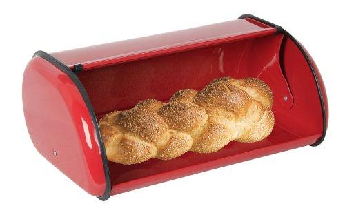 Home Basics Bread Box, Red