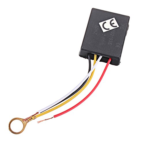 OriGlam 3 Way Touch Control Sensor Switch Dimmer, Desk Light Parts Touch Control Sensor Lamp for Bulbs Lamp Switch AC 220V 3A