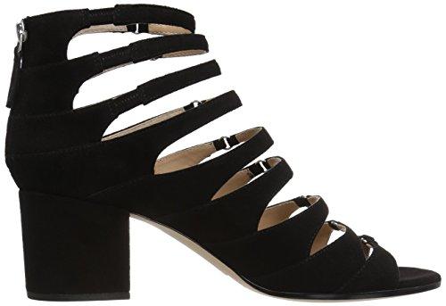 Victoire Black Heeled Pour La Amani Women's Sandal AwIxn5Yvq