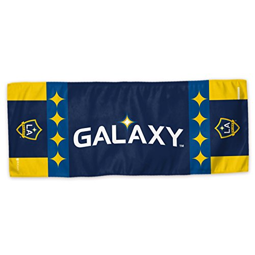 (Mission MLS Team Enduracool Microfiber Towel, Los Angeles Galaxy, 12