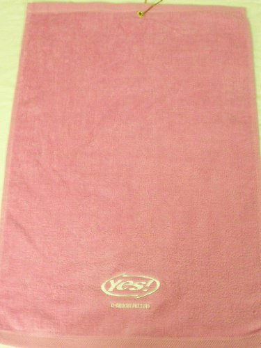Yes! C-Groove Putters Golf Towel Pink Yes 23