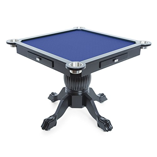 BBO Levity Game and Poker Table for 4 Players, 40.5-Inch ...