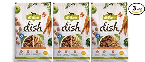 Rachael Ray Nutrish Dish Natural Dry Dog Food, Chicken & Bro