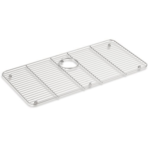 Kohler 8342-ST Iron/Tones Stainless steel Sink Rack, 28-7/16 inch x 14-3/16 inch for Iron/Tones Kitchen Sink by Kohler