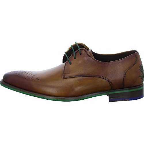 Floris Van Bommel 14193-00 Mannen Lace Up Cognac