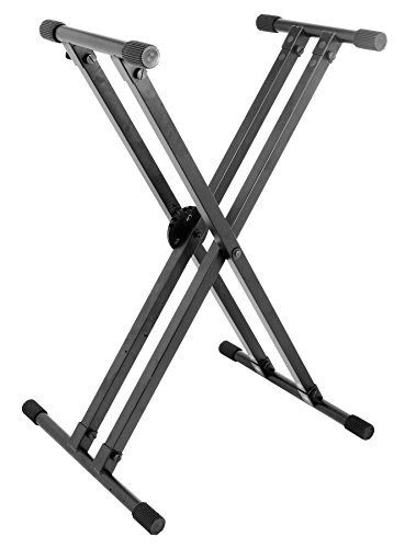 On Stage KS8291XX Pro Double X Keyboard Stand (X-style Double Brace)